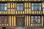 Yellow Mediaeval House, UK.