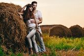 Countryside Couple Portrait