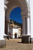 Archway at Basilica of Copacabana, Bolivia