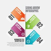 Siding Arrow Infographic