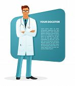 Doctor character man image