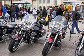 Motos en un encuentro Biker