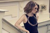 Fashion Shoot Of Young Girl