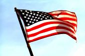 pic of usa flag  - USA Flag - JPG