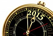 Постер, плакат: New Year 2015 Change And Past Year