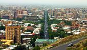 View Over The City Of Yerevan.