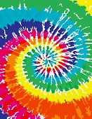 picture of tied  - A very colorful Tie Dye Swirl Background - JPG