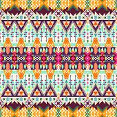 pic of tribal  - Tribal seamless background - JPG