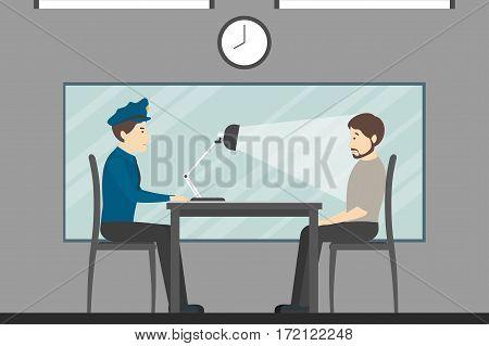 Interrogation of the