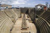 Vacant dry dock