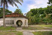 Tropical Prison Courtyard, Vietnam.