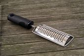 Grater On Wood