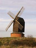 Windmühle auf der gemeinsamen am Brill