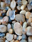 Beach Glass And Pebbles
