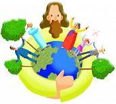 Ilustração cristã