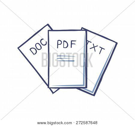 Pdf And Doc Text Documents