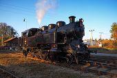 Steam Locomotive, Historical Ride, Steam Engine, Nostalgia poster