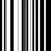 Black And White Straight Vertical Monochrome Lines Pattern Fashion Geometric Monochrome Parallel Str poster