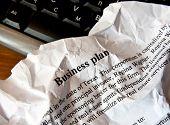 Schlechte Business-Plan. Serie