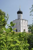 Church of the Intercession on River Nerl in the village Bogolubovo (Pokrova na Nerly) near Russian c
