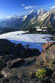 Постер, плакат: Кавказские горы пейзаж