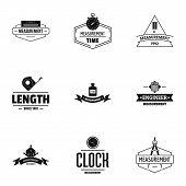 Object Construction Logo Set. Simple Set Of 9 Object Construction Logo For Web Isolated On White Bac poster