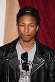 LOS ANGELES - DEC 6:  Pharrell Williams arrives at the