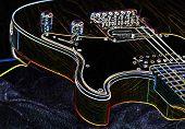 Guitarra do arco-íris