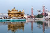 image of harmandir sahib  - Sikh gurdwara Golden Temple  - JPG