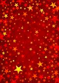 Stars On Red