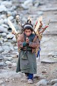 Tibetische junge