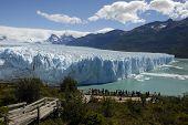der Perito-Moreno-Gletscher in Patagonien, Argentinien.