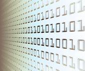 Wand des binären Codes