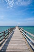 Pier of Kuehlungsborn,baltic Sea,Germany