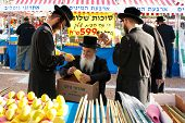 Jewish Pilgrimage Festivals - Biblical Holiday Sukkot At Rabin Square In Tel Aviv
