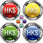 Bigbutton-currency-hongkong-dollar