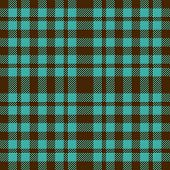 Blue And Brown Plaid