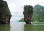 pic of james bond island  - James Bond island in thailand - JPG