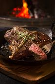 picture of porterhouse steak  - porterhouse steak - JPG