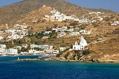 View on Paros island  Greece