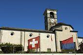 Church in Brissago Switzerland