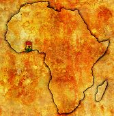 Ghana On Actual Map Of Africa