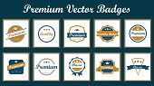 Premium Vector Badges.eps