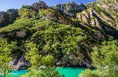 Gorges Du Verdon (canyon Of Verdon River) France