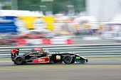 MOSCOW - JUNE 23: Oscar Tunjo of Josepf Kaufmann Racing team (GER) race at Formula Renault 2.0 race