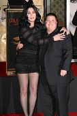 Cher and Chaz Bono at Cher's Hand and Footprint Ceremony, Grauman's Chinese Theatre, Hollywood, CA. 11-18-10