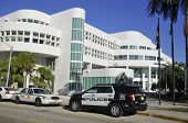 Police departement building Miami