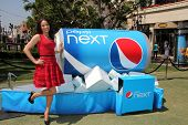 Paula Patton serves up first sips of new Pepsi Next, The Grove, Los Angeles, CA 04-09-12