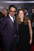 Robert Downey Jr. and Wife Susan at the