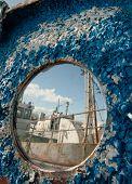 Frozen Porthole